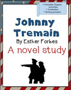 This product is a zip file to use with the novel, Johnny Tremain by Esther Forbes.  Most items are available individually, but purchase this bundle to get them ALL, plus an Activity worksheet, for one low price.  See detailed descriptions of all the available items below:Johnny Tremain is a class novel teaching the events leading up to the American Revolution in a historical fiction novel.