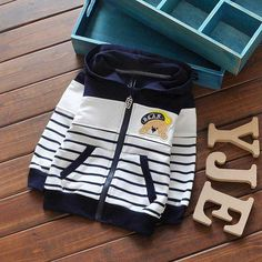 We are delighted to bring you our newest catalogue of exciting.   Like and Share if you like this Bear Stripes Patchwork Cardigan.  Tag a mom who would love our amazing range of babywear! FREE Shipping Worldwide.  Why wait? Buy it here---> https://www.babywear.sg/new-spring-children-baby-boys-infant-sweatshirts-cartoon-bear-stripes-patchwork-coats-hoodies-cardigan-y1302/   Dress up your toddler in quality clothes today!    #babysuits