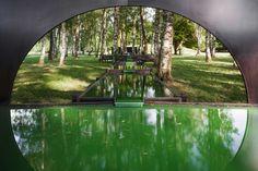 La fontana di Spirulina a Ginevra: un giardino di alghe all'italiana in pieno stile Cinquecento #seaweed