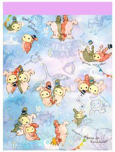 San-x Sentimental Circus Sky Mini Memo Pad: Constellation