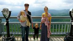 rachael and family: babywearing EXPLORATION