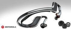 Your new workout buddy... the Motorola S11-FLEX HD Wireless Stereo Headphones