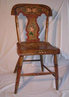 Pennsylvania Dutch The Hand Painting And Carvings In The