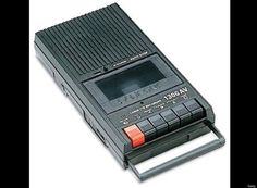 I can still remember when I got my first cassette recorder. - I can still remember when I got my first cassette recorder. Your own voice sounded strange! 1970s Childhood, My Childhood Memories, Sweet Memories, Childhood Toys, Crazy In Love, Cassette Recorder, Tape Recorder, Cassette Tape, Beste Songs