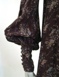 Biba dress sleeve detail