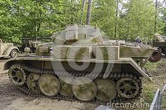 Panzer II Ausf. L `Luchs` at Militracks event in Overloon