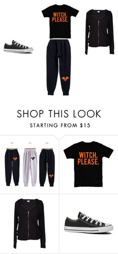 """""""halloween witch please"""" by brittrolon on Polyvore featuring RingBear, Velvet by Graham & Spencer and Converse"""