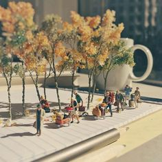 Our clients are coming back from their summer vacations and turning their attention back on us. #miniature #agencylife #adagency #fall #firstdayoffall #seattle #PNW #client #vacation #ミニチュア #summer #byesummer #FigurativelySpeaking # #