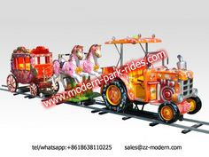 kids amusement train rides with different cabin to choose,first-class technology, do not hesitate to order tel/whatsapp/viber:+8618638110225 sales@zz-modern.com www.modern-park-rides.com www.zz-modern.com