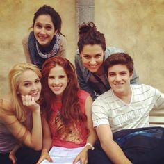Ludmilla, Francesca, Maxi, Natalia e Camilla