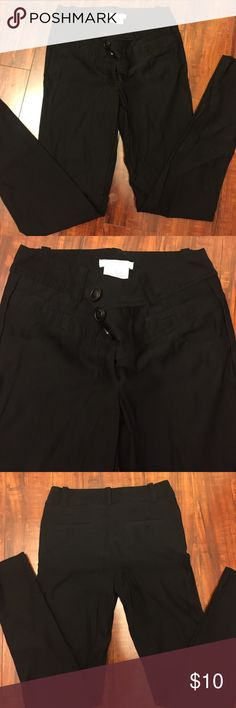 Charlotte Russe dress pants These pants fit perfect, stretch material not skinny Charlotte Russe Pants Trousers
