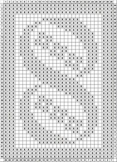 Filet crochet--easy mod for slytherinx crochet fileThis Pin Was Discovered By Crochet Flower Patterns, Crochet Motif, Crochet Doilies, Crochet Lace, Crochet Stitches, Knitting Patterns, Graph Paper Art, Filet Crochet Charts, Fillet Crochet