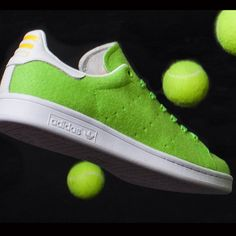 Pharrell Williams X Adidas Stan Smith Tennis Sneakers #Comfortable, #Rubber, #Shoes, #Tennis, #Unconventional