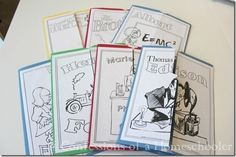A neat way to learn about inventors and scientists!  Love Lapbooks!