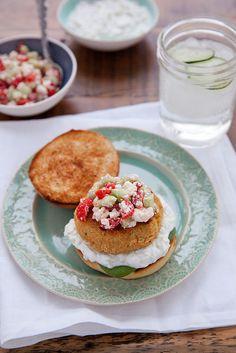 Mediterranean Veggie Burgers | Annie's Eats