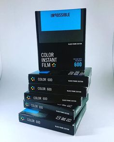 Stacks on stacks on stacks!  Running low? Stock up at our store!! Link in bio #instantfilm #instaxfilm #filmisnotdead #ishootfilm #polaroid…