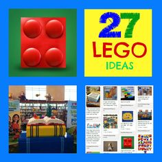 Stop in at my Party! Link up anything you want! I am featuring my 27 LEGO Ideas