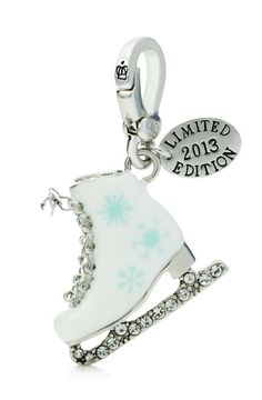 Juicy Couture White Ice Skate LTD 2013 Charm