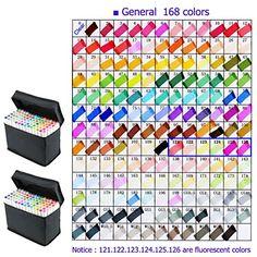 yalulu gráfico rotulador-General Diseño 168Colores-B... https://www.amazon.es/dp/B01KNPHF9K/ref=cm_sw_r_pi_dp_x_rwiJybC3D1HGC