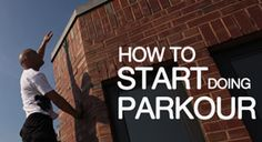 Parkour...freestyle running and cross training