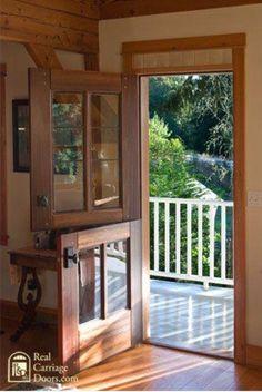 Door Half Doors Windows And Double Country Patio Porches