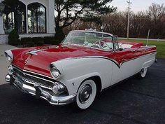 55 Ford Crown Victoria.