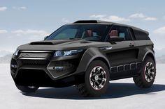 Range Rover Evoque Dakar Concept