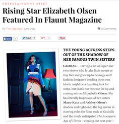 MISSION: Elizabeth Olsen Flaunts It! FLAUNT Magazine #fashion #style http://thechicspy.com/index.php/rising-star-elizabeth-olsen-featured-flaunt-magazine