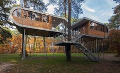 Tree House Architecture by Andreas Wenning