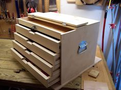 How To Build A Wood Tool Cabinet
