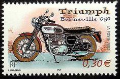 TriumphBonneville stamp