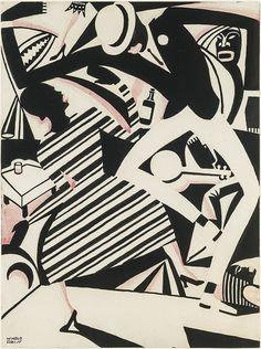 Art Deco was a movement in decorative arts. Art Deco did not originate with the Exposition; African American Artist, American Artists, Native American, Early American, American Women, American History, Jazz Paris, Paris Art, Black Art