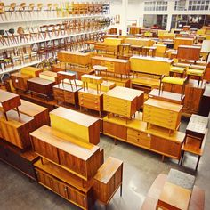 Mid Century Møbler is a Berkeley-based vintage furniture dealer that operates like Reverse Vikings: They raid Scandinavia (and parts of the UK and Germany) on quarterly buying trips, plundering every bit of Mid-Century Modern furniture they can get their hands on and sending it to California in shipping containers.