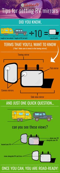 Tradewind's tips for setting your RV mirrors