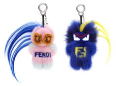 Two Life-Size Fendi Monsters Sat Front Row at the Brand's Runway Show