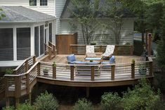Rubin - Screened Porch and Sun Deck - traditional - patio - dc metro - D G Liu Design and Home Remodeling - Dale Kramer