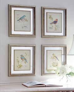 Four Songbird Prints - Neiman Marcus