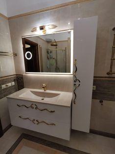 Double Vanity, Furniture Ideas, Bathroom, Style, Washroom, Stylus, Bath Room, Bathrooms, Downstairs Bathroom