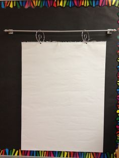 anchor charts with no easel - Google Search