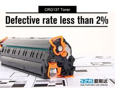 Compatible CRG137 toner defective rate is less than 2%. #asta #printing #canon #crg137 #tonercartridge #factoryprice #highqualitytoner #printing #consumables #officesupplies #ink #printerink #inkjet #thursday 2nd One, Toner Cartridge, Thursday, Canon, Prints, Ink, Cannon, India Ink