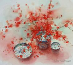 A watercolor painting / Yuko Nagayama
