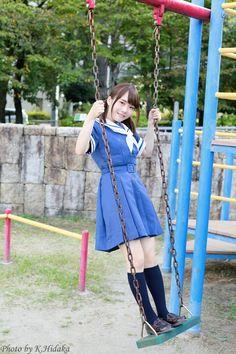 天瀬音羽さん(17/9/10 さくらフォト)   Hidaka Photo Blog Cute School Uniforms, School Uniform Fashion, School Girl Outfit, Sailor Fashion, Girl Fashion, Japan Girl, Girls Leggings, Beautiful Asian Girls, Pink Ladies