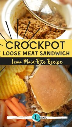 12 recipes for cooking meat in your slow cooker or crockpot. Simple quick recipes to get a meal on a table at night or feed a crowd. See Listotic for all the best crockpot recipes your family will love. Slow Cooker Recipes, Gourmet Recipes, Crockpot Recipes, Cooking Recipes, Slow Cooking, Quick Recipes, Pressure Cooking, Loose Meat Sandwiches, Meat Packing