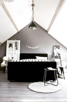 New bedroom inspiratie zwart Ideas