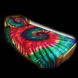 !@Best Buy 300tc College Dorm Duvet Cover Set - Extreme Rainbow Spiral Tie-Dye - Twin XL Size    Price: $129.00    .Check Price >> http://OUTLET9.COM/dorm-bedding/Best-Buy-300tcCollegeDormDuvetCoverSetExtremeRainbowSpiralTieDyeTwinXLSize-B002SO7T96.html
