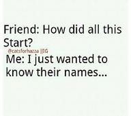 It all started with their names...
