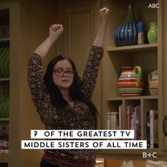 Secret Talents of Middle Children That Make Them Stealth Leaders 7 of the greatest TV middles sisters of all time. Hi, Jan of the greatest TV middles sisters of all time. Hi, Jan Brady! Full House Videos, Middle Child Quotes, Stephanie Tanner, Growing Up With Siblings, Friend Jokes, Funny Comments, Makeup Blog, Modern Family, The Middle