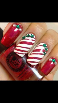 Best 25+ Cute christmas nails ideas on Pinterest | DIY ...