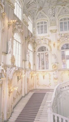 Eternal halls of white and gold architecture Wedding Photographer Paris Angel Aesthetic, White Aesthetic, Aesthetic Art, Aesthetic Pictures, Baroque Architecture, Beautiful Architecture, Beautiful Buildings, Beautiful Places, Modern Architecture