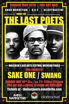 THE LAST POETS in OAKLAND, CA
